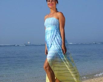 Off Shoulder Summer Dress/Bohemian off shoulder dress/Beach dress/Beach wear/Boho beach dress * OFFSHOULDER CARLOTTA DRESS