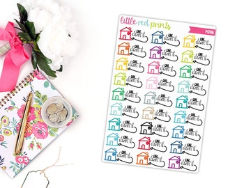 Clean The House Planner Stickers For The Erin Condren Life Planner Cleaning Sticker House