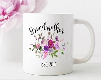 Grandma mug, grandmother gift, grandma mug, nana cup, gma mug, nana gift
