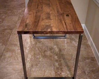 Amazing Walnut Table Top   Solid Black Walnut // Pub, Coffee, Kitchen, Island