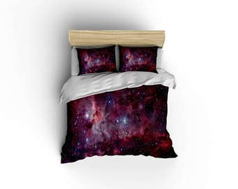 Carina Nebula Duvet Cover,Nebula duvet covers,Astronomy Duvet covers,bedroom decor,space and galaxies,Nebula-11 Bedding,Space bedding.