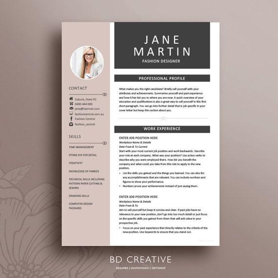 resume template 19 modern creative professional cv