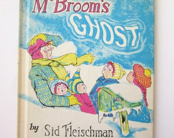 McBroom's Ghost, Sid Fleischman, Robert Frankenberg, Weekly reader children's book club
