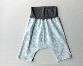 toddler harem shorts + Hipster baby boy shorts + Hipster boy clothing + Trendy Baby harem shorts + Hipster toddler boy shorts Toddler Baby