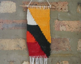 Woven Wall Hanging - Forest Sunset