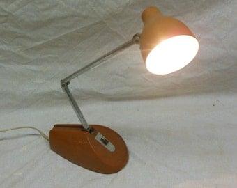Cute Retro Small Articulating Desk Lamp - Vintage Table Light Office Decor