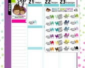 Sarcastic Hump Day Planner Stickers | Fits Most Planners | Sarcastic Planner Stickers | Camel Stickers | Hump Day | 156