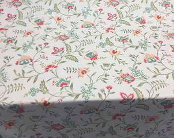Waverly Carolina Crewel Bloom Fabric By the yard