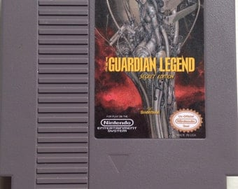 Guardian Legend Secret Edition - NES Cart