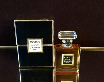 Coco Chanel perfume 1/4 oz sealed Chanel Perfume Vintage