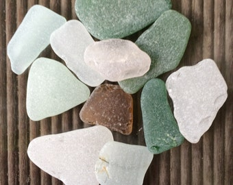 Large Sea Glass, Genuine Beach Glass, Genuine Sea Glass, Tumbled Glass, Sea Glass