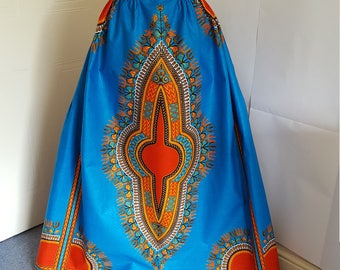 Best African Printed Custom made Maxi Skirts by MasheesGiftShop