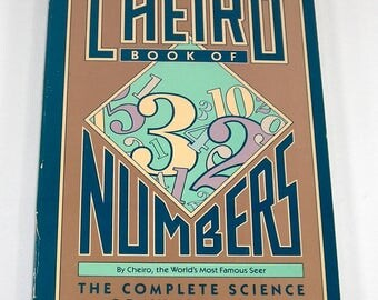Cheiro book of numbers