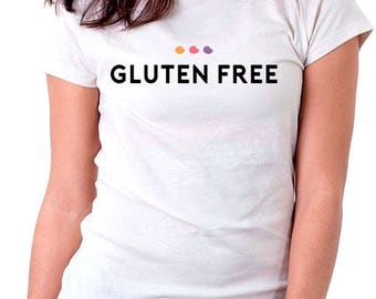 T-shirt Gluten Free. In the month of celiac disease it is wearing this t-shirt to fight for the rights of people with celiac disease