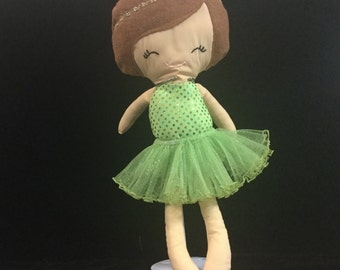 Sparkly Green Doll