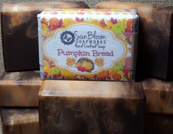 SALE! - Pumpkin Bread Soap (Only 1 bar left!)