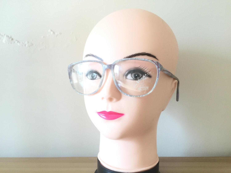 baca0fadda0 Grey Eyeglasses Metzler en Vogue Large frames Retro glasses Tortoise shell  Spectacle Wayfarer frames Hipster Vintage