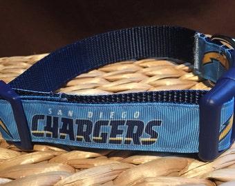 SAN DIEGO CHARGERS Adjustable Dog Collar