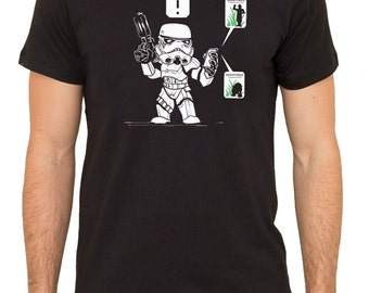 Star Wars GO Catch All The Droids Men's Comedy T-Shirt