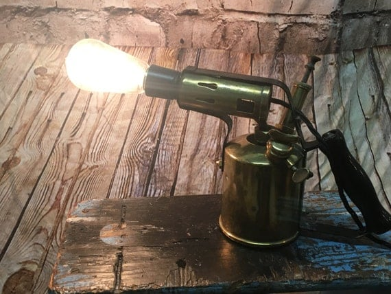 Vintage Blow torch lamp