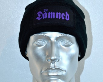 The Damned Beanie Hat - Punk Clothing - Punk Accessories