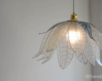 "Chandelier ""Ethereal Leaves "" / Free Shipping"