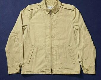 Blue Label United Arrows Zip Up Designer Jacket Size M Made In Japan