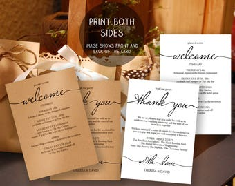 Wedding itinerary template wedding welcome note printable printable wedding itinerary template wedding weekend itinerary wedding welcome letter wedding welcome template junglespirit Images
