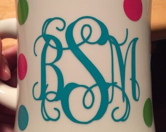 16oz PERSONALIZED insulated diner mug.