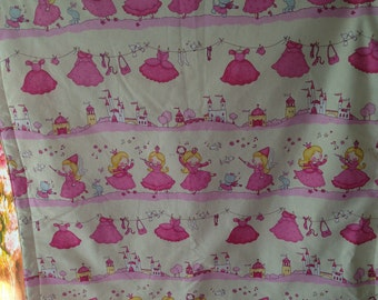 Baby blanket, blankie in Pink for the little Princess