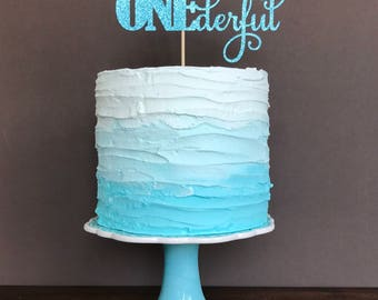 Onederful cake topper, 1st birthday decorations,  first birthday cake topper, 1st birthday cake topper, first birthday boy, birthday cake