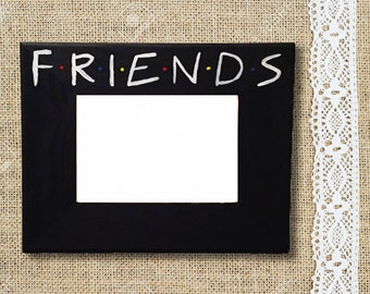 friends tv show picture frame with 5x7 photo area