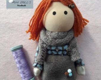 Mini doll vintage