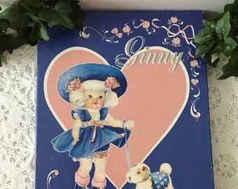"1984 ""Ginny Doll"" Paperdolls by Vogue"
