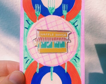 Waffle House Lapel Pin