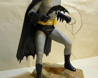 Adam West Batman brush painted model