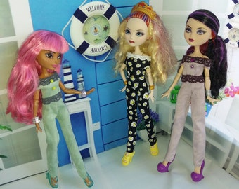 Romper(Overall) for dolls Ever After High, Monster High
