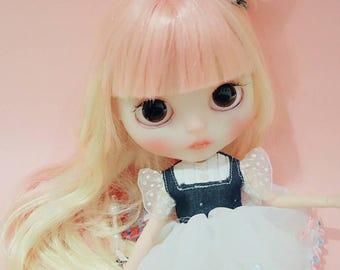 ooak customer blythe doll - Bonny set