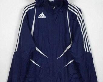 adidas windbreaker hoodie