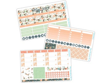 May Flowers | May Monthly Kit | Designed to fit the Happy Planner