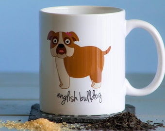 English Bulldog Mug (girl)