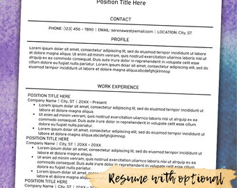 resume cover letter references premade color versions resume instant
