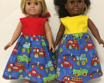 """18"""" doll Transportation dress"""