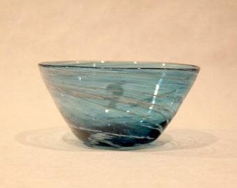 Small Transparent Glass Bowl