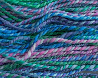 Handspun Bulky Yarn, 88 yards, 4.4oz/123g