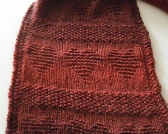 Heart knitting pattern Etsy