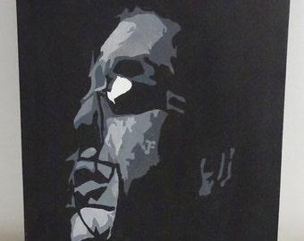 """Rammstein ~ Oil on Canvas ~ 16"""" x 12"""""""