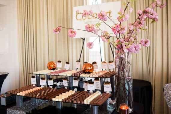 Event Planning | Highest end Artisan Chocolate Package | Dessert Table | Kosher Dairy