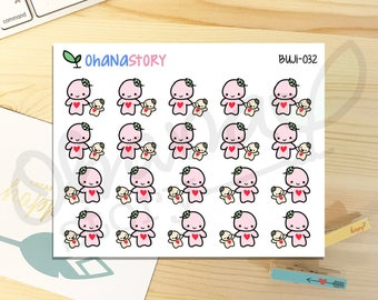 Buji - PLAY with BABY - Planner Stickers (BUJI-032)
