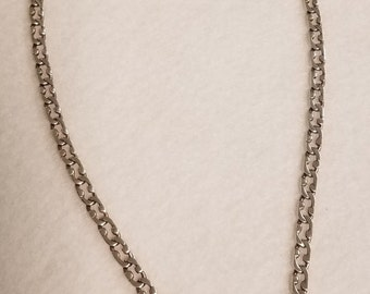 """18"""" Sterling Silver Link Necklace"""